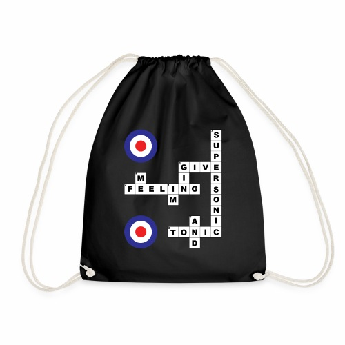 Supersonic - Crossword - Drawstring Bag