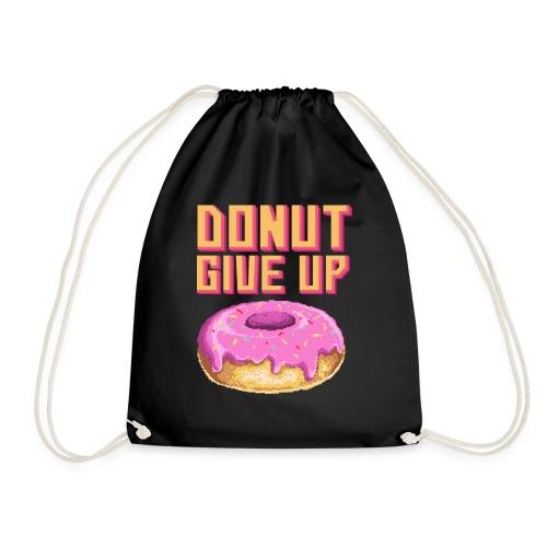 DonutGiveUp - Turnbeutel