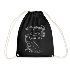 holograph_white - Drawstring Bag