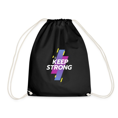 JUST KEEP STRONG - Turnbeutel