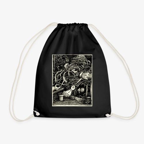 Garden of madness - Drawstring Bag