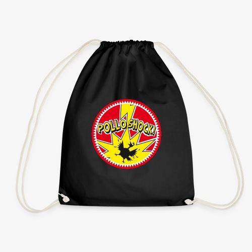 Logo ufficiale dei Pollo Shock! - Sacca sportiva