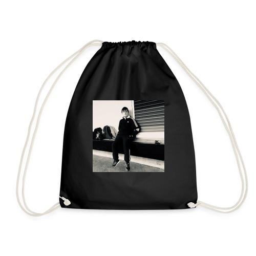 Tshirt with Spraxa's face on it! - Drawstring Bag