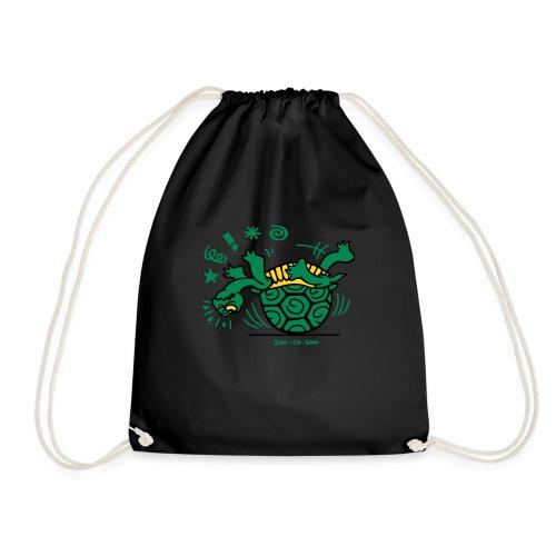 Unlucky Turtle - Drawstring Bag