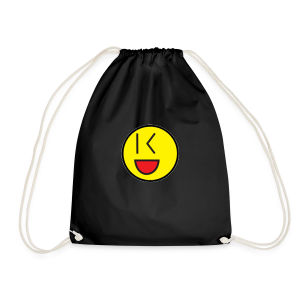 Cool Wink Smiley Hoodie - Drawstring Bag