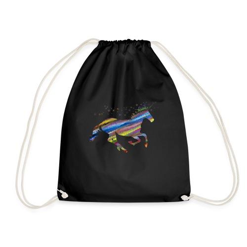 licorne multicolor - Sac de sport léger