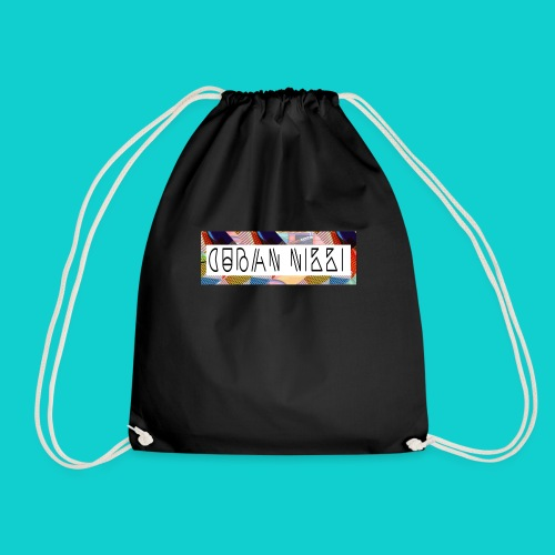 Cuban Nikki Logo - Drawstring Bag