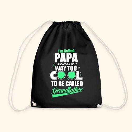 Cooles Papa Opa Grandfather T-Shirt Englisch - Turnbeutel