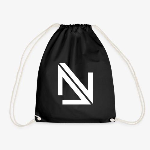 Deep Nation Records Elite Street Wear B&W - Drawstring Bag