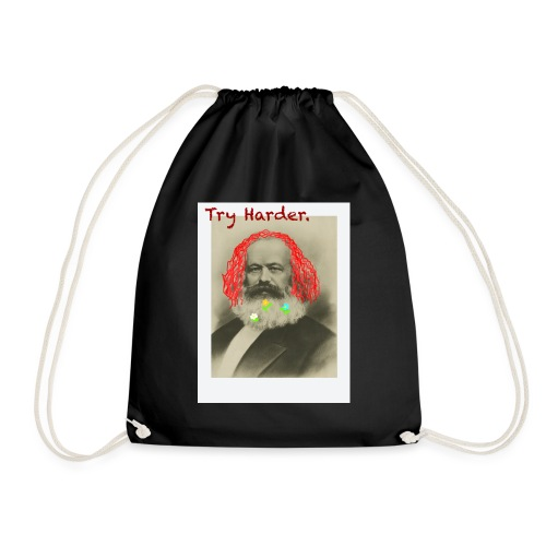 Try Harder, Comrade! - Drawstring Bag