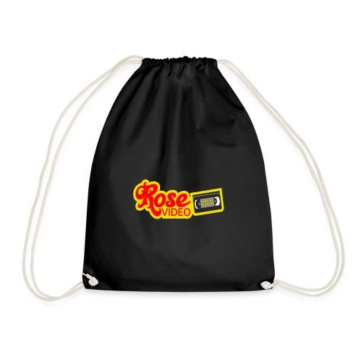 rose video logo - Drawstring Bag