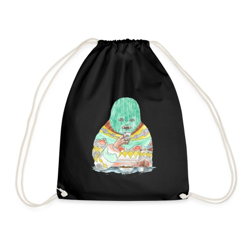 Spaghetti time - Drawstring Bag
