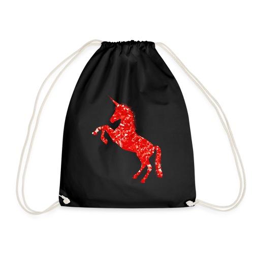 unicorn red - Worek gimnastyczny
