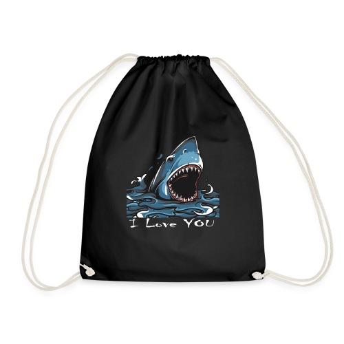 Der Hai, der Dich liebte - Turnbeutel