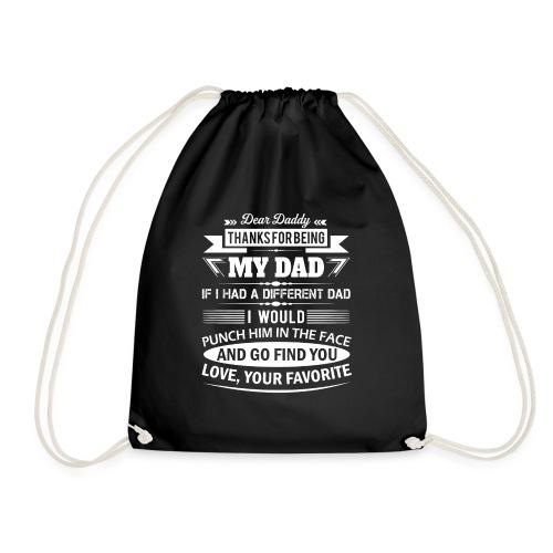Dear Daddy... - Drawstring Bag