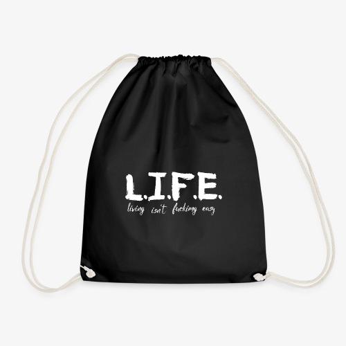 Life isn´t f*ing easy - Turnbeutel