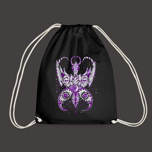 Papillon Lilou Violet - Sac de sport léger