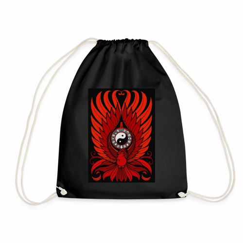 Red Phoenix - Drawstring Bag