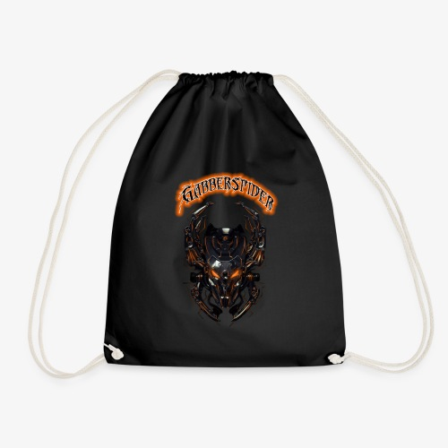 Gabberspider orange - Drawstring Bag