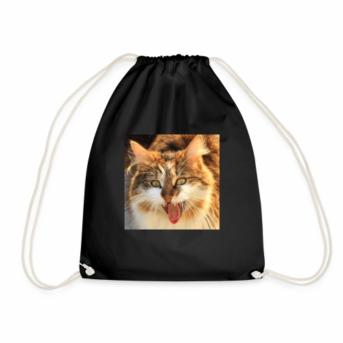 Batcat - Drawstring Bag