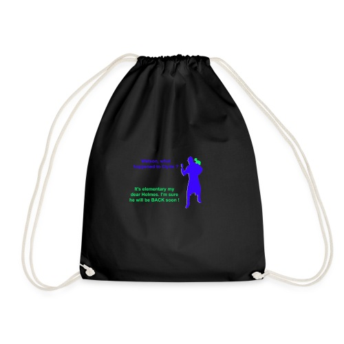 Clyde will be back - Drawstring Bag