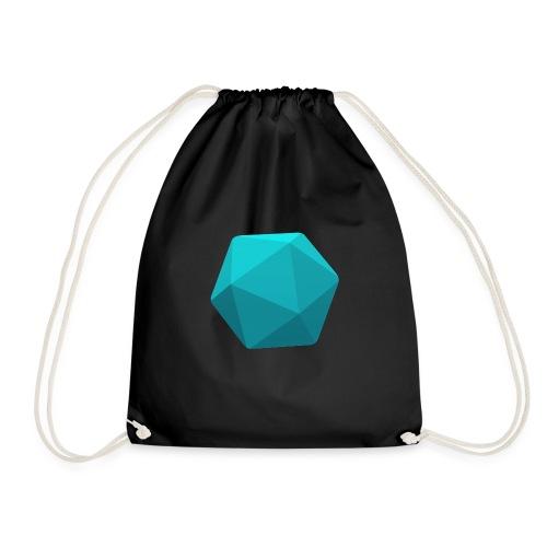 Blue d20 - Drawstring Bag