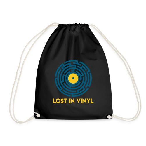 Lost in vinyl - Sacca sportiva