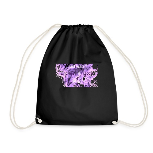 I just wanT Bitches & Coca MoCa t'shirt - Drawstring Bag