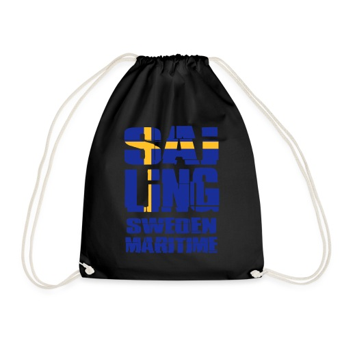 Sweden Maritime Sailing - Drawstring Bag
