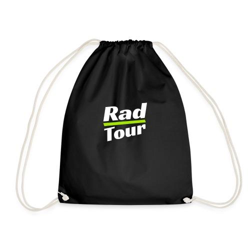 Rad Tour T-Shirt Fahrrad Geschenk Reise - Turnbeutel