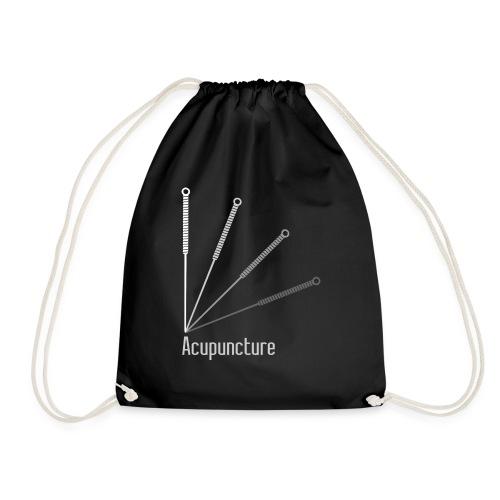 Acupuncture Eventail (logo blanc) - Sac de sport léger