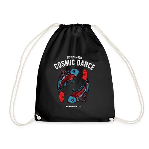 Pisces Moon Dark - Drawstring Bag
