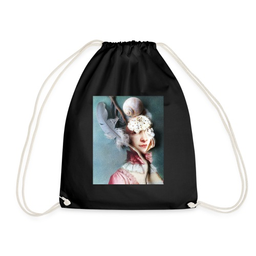 Queen 1 by Maximillion - Drawstring Bag