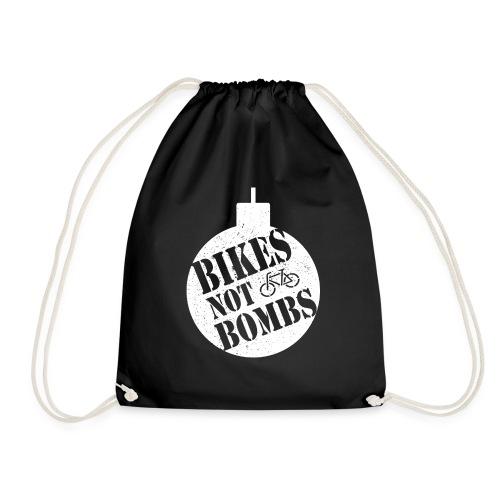 Bikes Not Bombs - Drawstring Bag