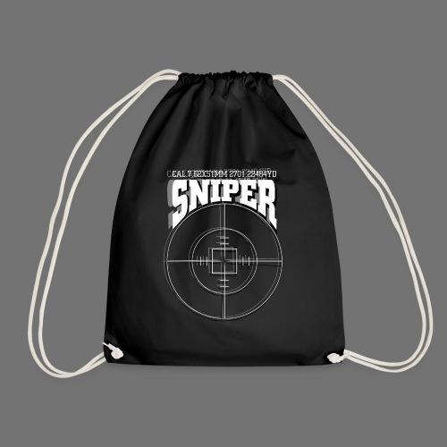 Sniper (white) - Turnbeutel