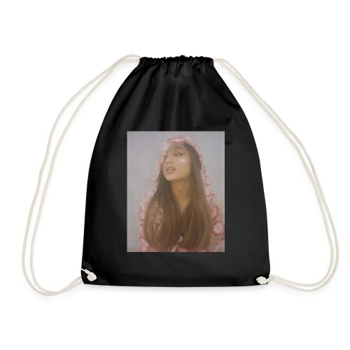 ariana grande merch - Drawstring Bag