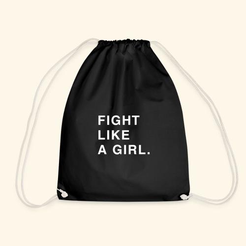 Fight like a girl. - Sac de sport léger