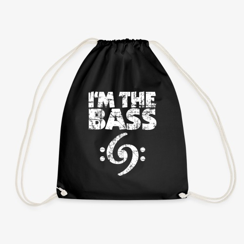 I'm the Bass 69 Vintage White - Turnbeutel