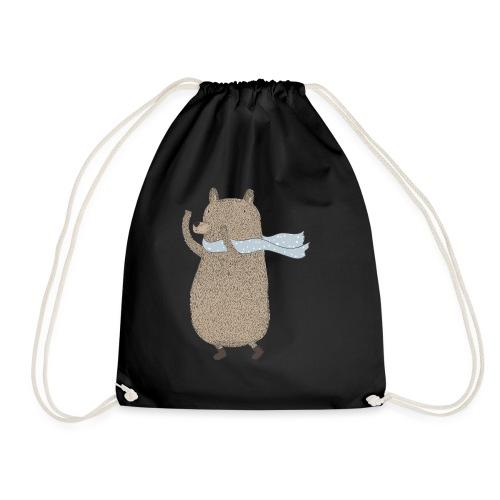Fluffy Cuddle Bear by #OneCreativeArts - Turnbeutel