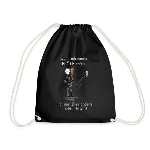 Recorder Love f. dark colours - Drawstring Bag