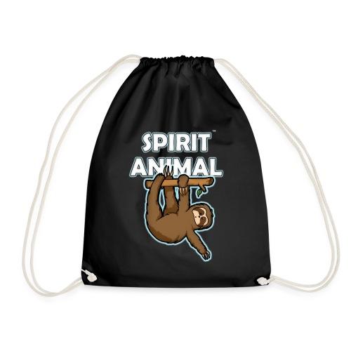 Spirit Animal Sloth - Drawstring Bag
