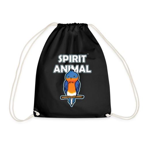 Spirit Animal Bird - Drawstring Bag