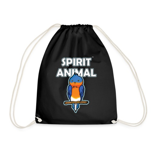 Spirit Animal Bird - Drawstring Bag