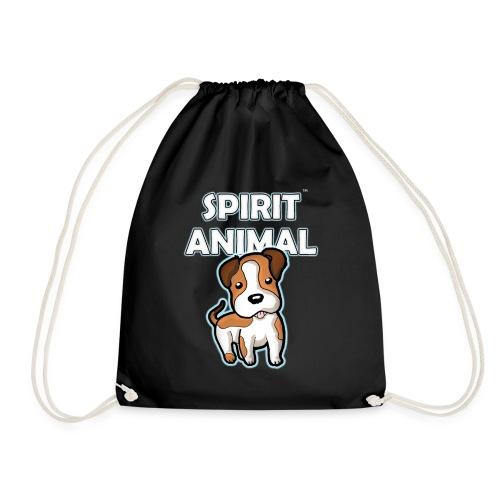 Spirit Animal Dog - Drawstring Bag