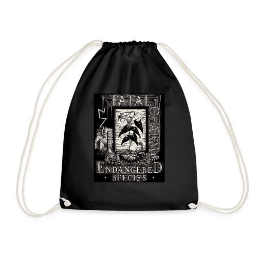 fatal charm - endangered species - Drawstring Bag