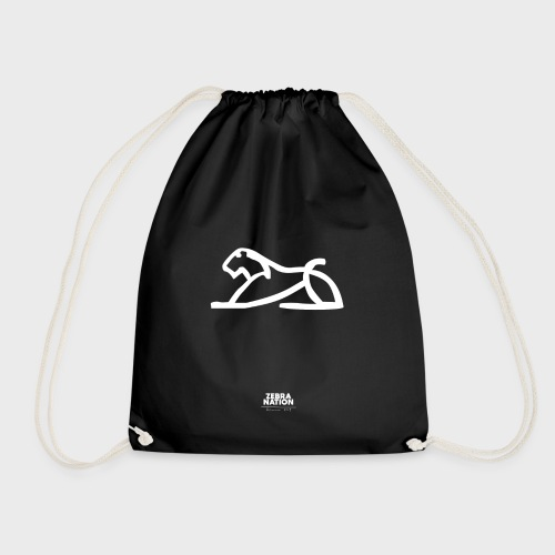 Zebra Nation (White Lion) 2019 Collection - Drawstring Bag