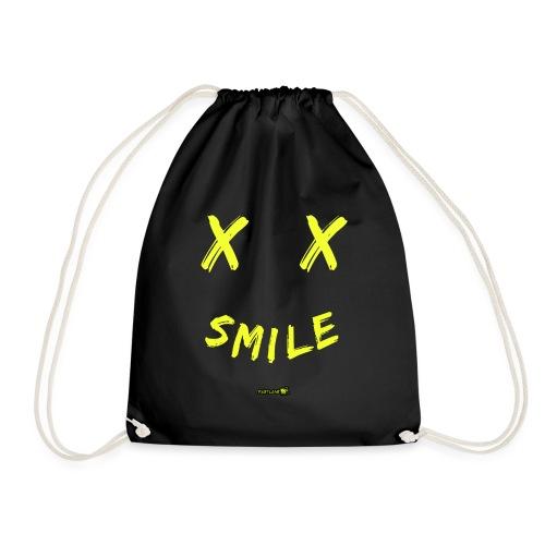 smile tee - Drawstring Bag