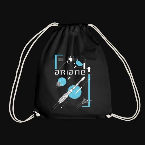 ARIANE 4 - how it works - Drawstring Bag