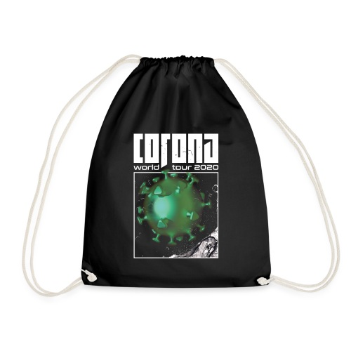 Corona World Tour 2020 | Coronavirus - Drawstring Bag