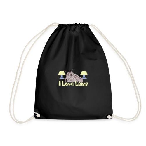Moth Loves Lamp Meme - Drawstring Bag
